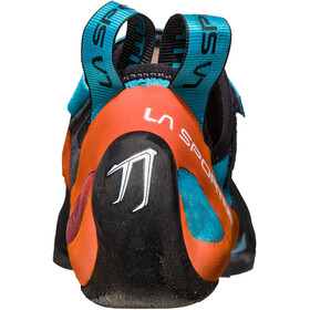 La Sportiva M's Katana Climbing Shoes Tangerine/Tropic Blue